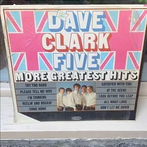 """The Dave Clark Five """"More Greatest Hits"""" Album"""